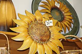 Sunflower Decorations Wall Art Ideas Surprising Metal Sunflower Wall Art Decoration