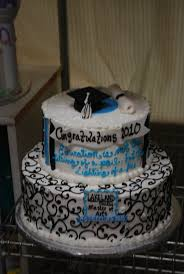 graduation cakes white black lt blue tamara u0027s cakes oshkosh