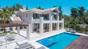 Modern Villa by New Modern Villa In Marbella Golden Mile Spain 7 900 000
