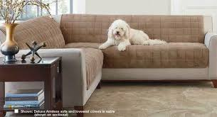 Sure Fit Sectional Slipcover Fancy Sofa Covers For Pets With Sure Fit Slipcovers Our Newest Pet