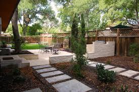 backyard architecture zilker park backyard contemporary landscape austin by