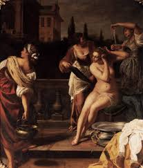 Susanna Im Bade Artemisia Gentileschi Famous Women Artists In History