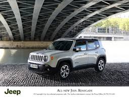 new jeep renegade all new jeep renegade prices announced press fiat group