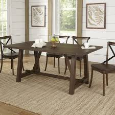 Wood Rectangle Dining Table Birch Romney Rectangular Dining Table Reviews Wayfair