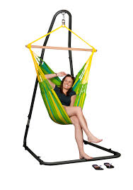 Ez Hang Hammock Chair Hanging Chair With Stand