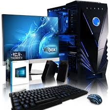pack ordinateur de bureau vibox supreme pack 8 pc gamer intel 4 radeon rx 460