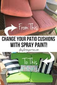 Outdoor Chair Cushions Best 25 Painting Patio Furniture Ideas On Pinterest Painted