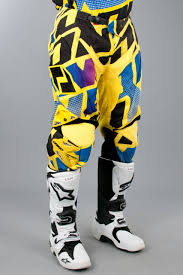one industries motocross gear one industries defcon quasar pants yellow now 50 savings 24mx