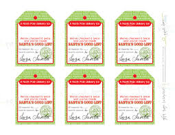 god bless our nest free printable u0027love santa u0027 tags