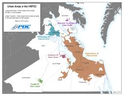 Map Virginia Beach by Hampton Roads Msa Analysis Of Recent Delineation Planning News