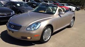 lexus yellow convertible pre owned gold 2005 lexus sc 430 2dr convertible ponoka alberta