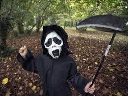 Anonymous Halloween Costume Halloween Mask U0027good U0027 Kids Turn Candy