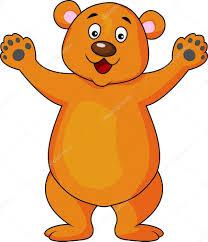 imagenes animadas oso dibujos animados de oso pardo archivo imágenes vectoriales