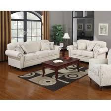 Beige Leather Living Room Set Cottage Country Living Room Sets You Ll Wayfair