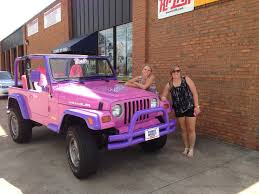 jeep lifted pink barbie jeep barbie jeep pinkjeep j e e p pinterest jeeps