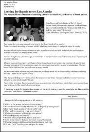 reading comprehension worksheets third grade galileo science