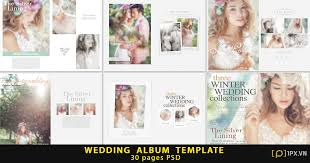 wedding album templates wedding album template 30 pages psd free 1px vn