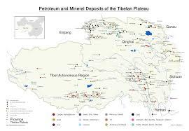 Tibetan Plateau Map Mining In Tibet Threatens Asia U0027s Rivers Central Tibetan