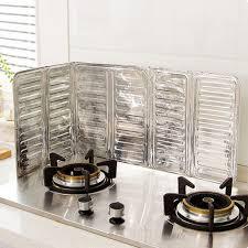 Stove Splash Guard Kitchen Tools Useful Design Cooking Frying Oil Splash Guard Gas