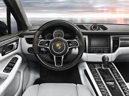 the porsche macan interior design