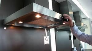 kitchen hood lights blanco gutmann palma extractor impressive youtube