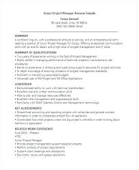 It Project Manager Resume Sample Doc by Sample Project Manager Resume India It Infrastructure Project