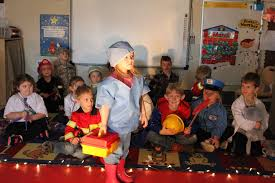 preschool students learn about community helpers north