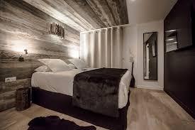 chambre rock rock noir design hotel spa la salle les alpes 2018 hotel