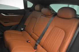 maserati levante interior back seat 2017 maserati levante s stock m1690 for sale near greenwich ct