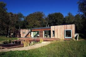 new forest retreat by pad studio boxed windows house ideas
