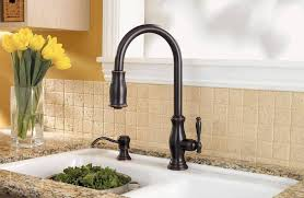 price pfister hanover kitchen faucet stainless steel hanover 1 handle pull kitchen faucet f 529