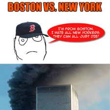 Boston Meme - boston vs new york by hawkeyederezzed meme center