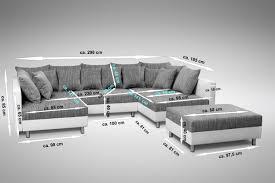 u sofa xxl wohnlandschaft xxl federkern couchgarnitur enorm sofa