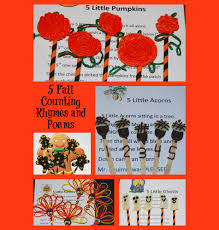 halloween party rhymes original fall counting rhymes and poems for preschool and