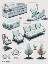Game Design Art Institute Fallout 4 Art Of Fallout 4 Institute Decor Pieces Prop Design