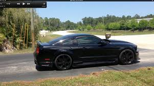 Black Mustang Wheels 2005 Mustang Gt Black 20