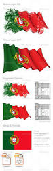 What Are The Colors Of The Portuguese Flag Portugal Flag Grunge