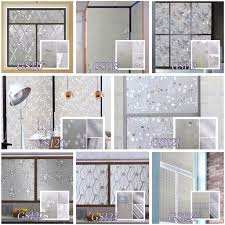 Home Deco by 3d Self Adhesive Window Glass Film End 2 11 2018 11 11 Am