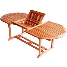 teak patio table with leaf teak type 67 to 91 inch extendable patio dining table