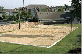 Backyard Sand Volleyball Court Neave Sports