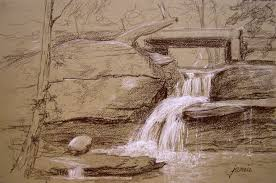 hudson valley painter sketches