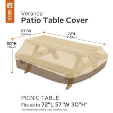 veranda picnic table covers