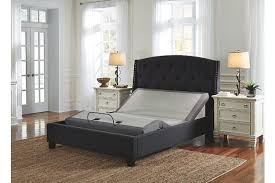 Adjustable Queen Bed Adjustable Base Massage Head Feet Queen Ashley Furniture