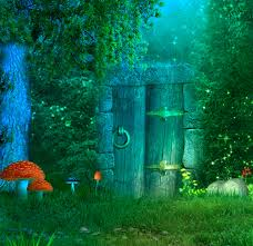 forests cool gate colors lovely shining animals premade nature