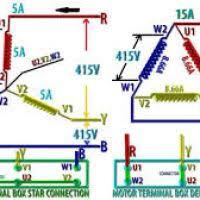 wiring motor star or delta yondo tech