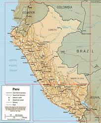 Peru South America Map by Peru Maps