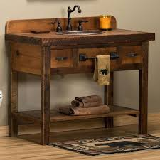 rustic bathroom cabinets vanities rustic bathroom cabinet gilriviere