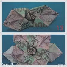 cara membuat origami bunga dari uang kertas download gambar crafty patty tutorial mawar dari uang kertas