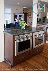 Microwave In Island In Kitchen Side By Side Double Oven In An Island Hmmm Maybe Just The Sink