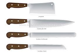 couteaux de cuisine alimentation et cuisine cuisine ustensiles de cuisine exemples